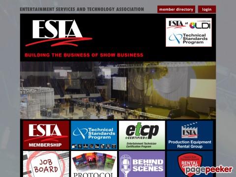 Entertainment Services & Technology Association (ESTA)