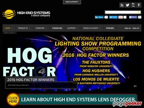 High End Systems, Inc.