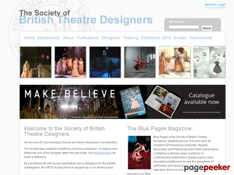 Society of British Theatre Designers, The