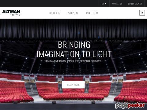 Altman Stage Lighting, Inc.