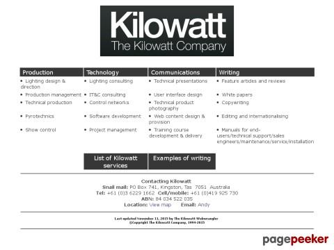 Kilowatt Company