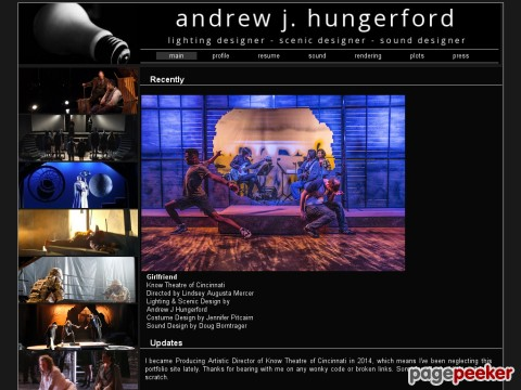Andrew J. Hungerford, Lighting Designer