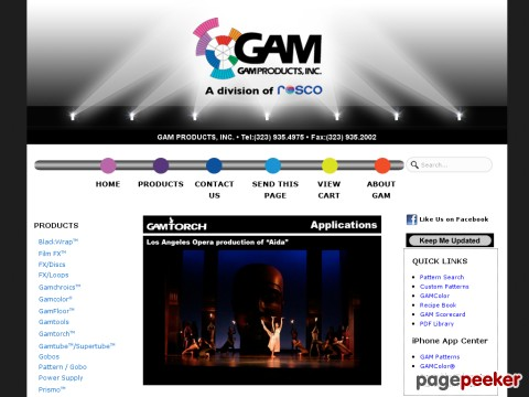 GAM Products, Inc.