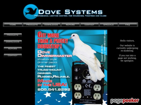 Dove Lighting Systems, Inc.