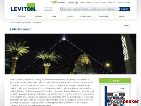 Leviton Colortran Division