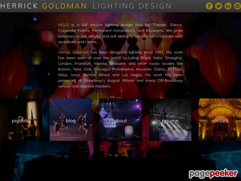 Herrick Goldman Lighting Design