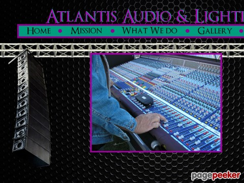 Atlantis Audio & Lighting Services