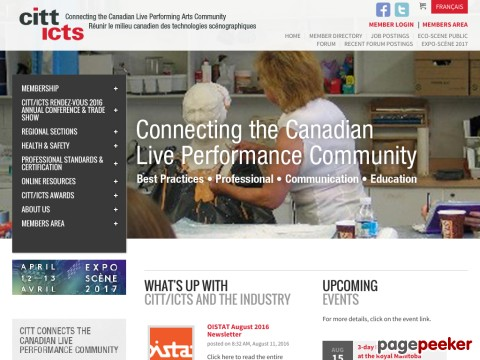 Canadian Institute for Theatre Technology, The (CITT)