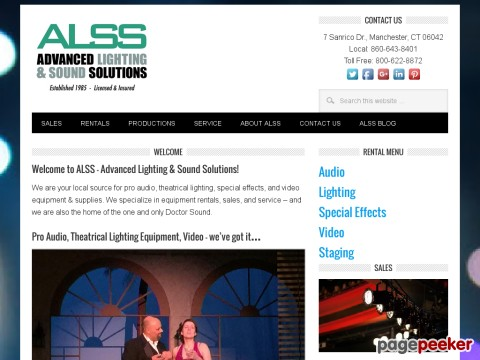 Advanced Lighting & Sound Solutions