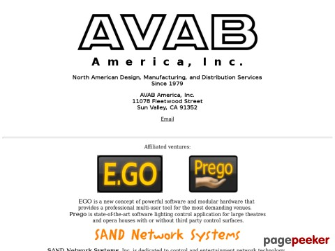 Avab America, Inc.