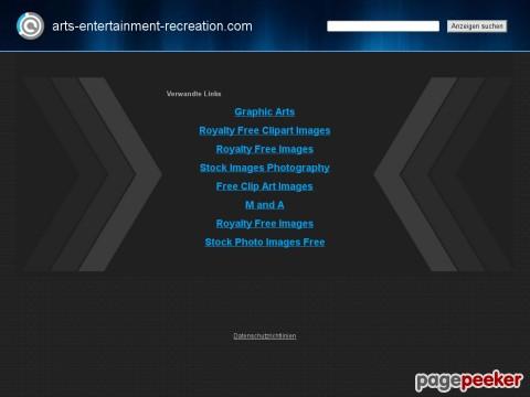 Arts, Entertainment & Recreation lighting links