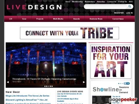 Entertainment Design Magazine