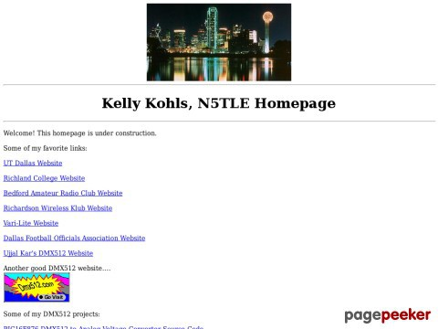 Kelly Kohls DMX512 Projects