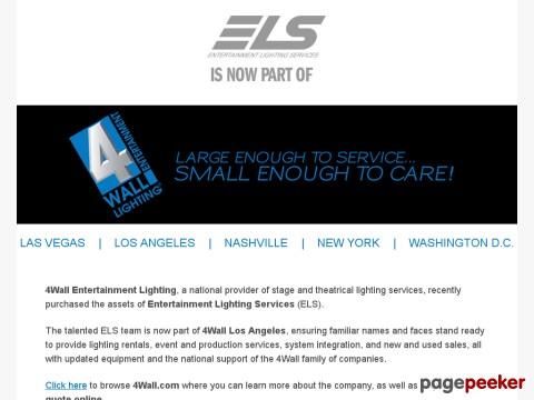 ELS - Entertainment Lighting Services  sc 1 st  StageLighting.info & StageLighting.info: Vanco Lighting Services azcodes.com